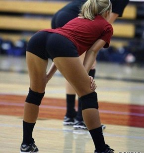 voleyball ass