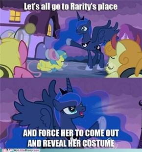 Pushing Luna