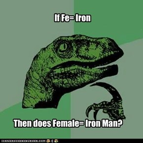 Philosoraptor: Iron