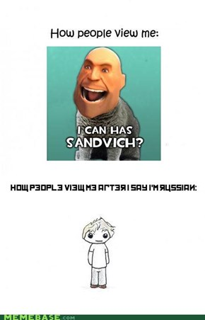 In Soviet Russia, people view you!