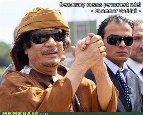 Qaddafi Quotes: Democracy