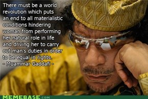 Qaddafi Quotes: Rights