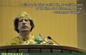 Qaddafi Quotes: Death