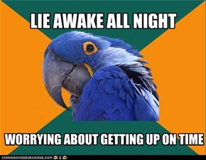Paranoid Parrot: Just Can't Relax