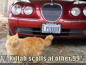 1% Kittah scoffs at other 99%