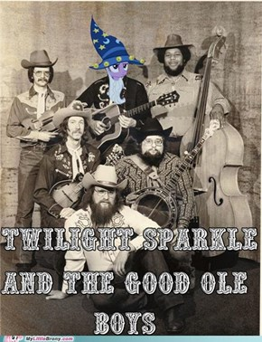 Mighty Fine Pickin' Miss Sparkle
