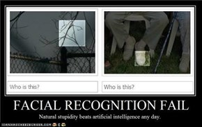 Facebook:  famous for its facial recognition software...hurr durr
