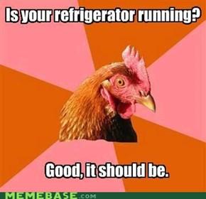 Anti-Joke Chicken: Everything's According to Plan