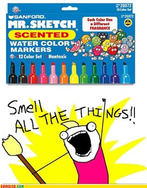 Smell ALL The Markers!