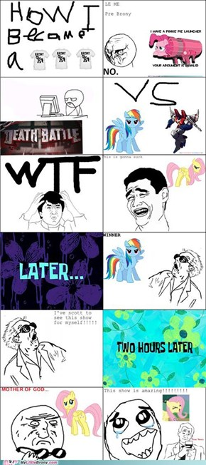 Hater to Brony
