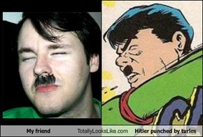 My friend Totally Looks Like Hitler punched by turles