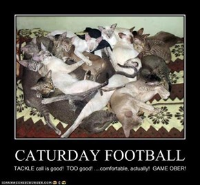 CATURDAY FOOTBALL