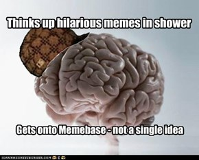 Thinks up hilarious memes in shower