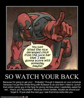 Deadpool Logic: This Is Extremely Accurate