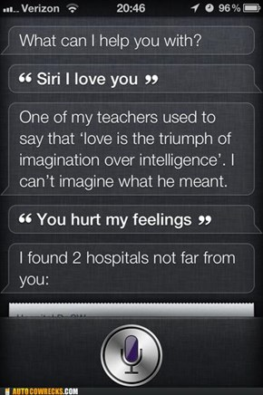 Siri Is a Smarmy Bastard