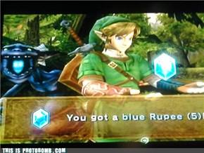 Link Gets a Rupee!