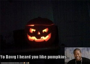 Yo Dawg I heard you like pumpkins...