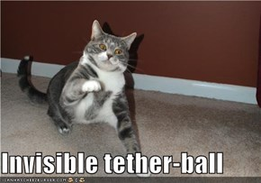 Invisible tether-ball