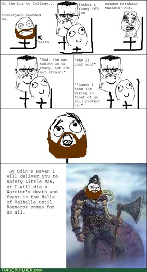 The Viking Protects You