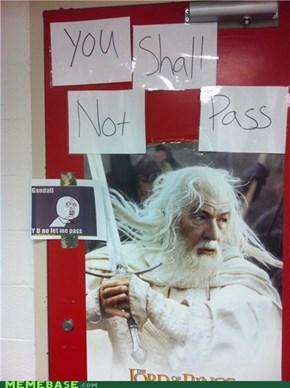 Gandalf, Y U So Sexism!?