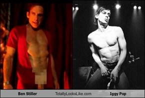 Ben Stiller Totally Looks Like Iggy Pop