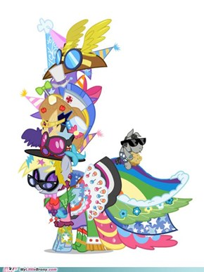 Derpy Wears ALL the Costumes!!!