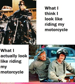Riding a Motorcycle: Perception vs. Reality