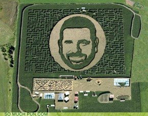 The Billy Mays Maize Maze