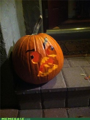 I carved myself a PPPPPUUUUUUUMMMMM-