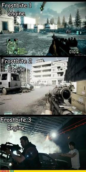 Battlefield: Frostbite Engine