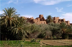 Old Castle Near the Oasis, Tinghir, Morocco