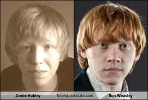 Jamie Hubley Totally Looks Like Ron Weasley
