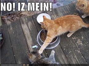 NO! IZ MEIN!