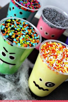 Epicute: Monster Pudding Cups
