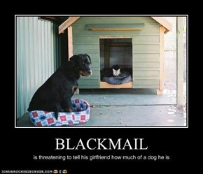 BLACKMAIL