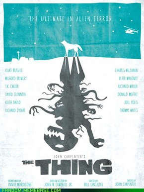 The Thing - Fanart Poster