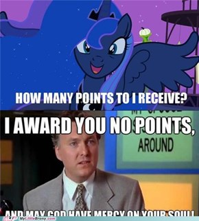 Luna Gets no Points