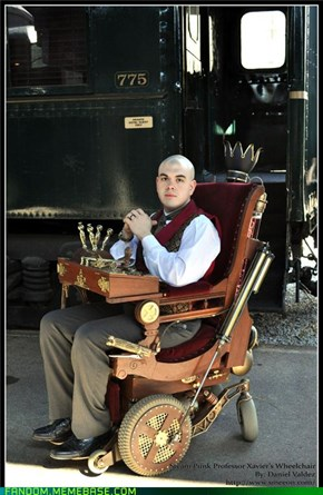 Steampunk Professor X -