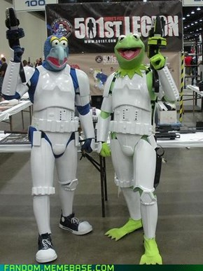 The Muppets Take The 501st