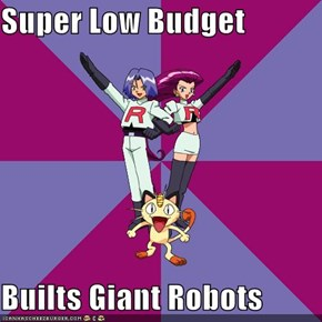 Super Low Budget  Builts Giant Robots