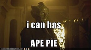 i can has APE PIE