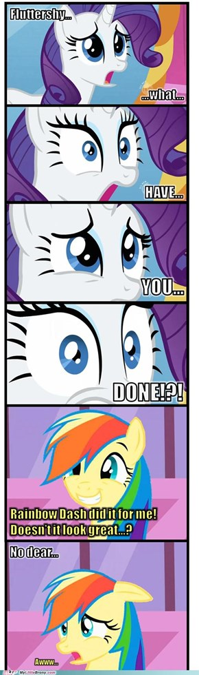 Oh Fluttershy...