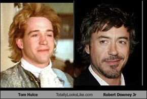Tom Hulce Totally Looks Like Robert Downey Jr