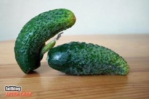 Rule #34 gets to cucumbers