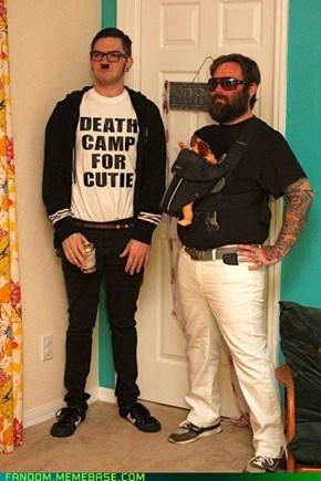 Last Year's Breakaway Hit Costume: Hipster Hitler