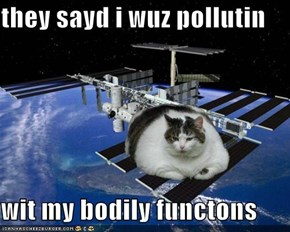 they sayd i wuz pollutin  wit my bodily functons