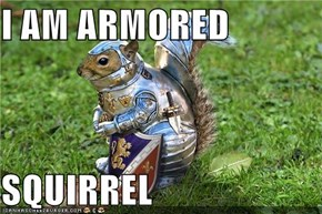 I AM ARMORED  SQUIRREL