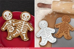 Inside Out Gingerbread Men