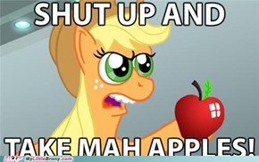 Take mah Apples!!!