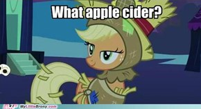 I don't see any cider